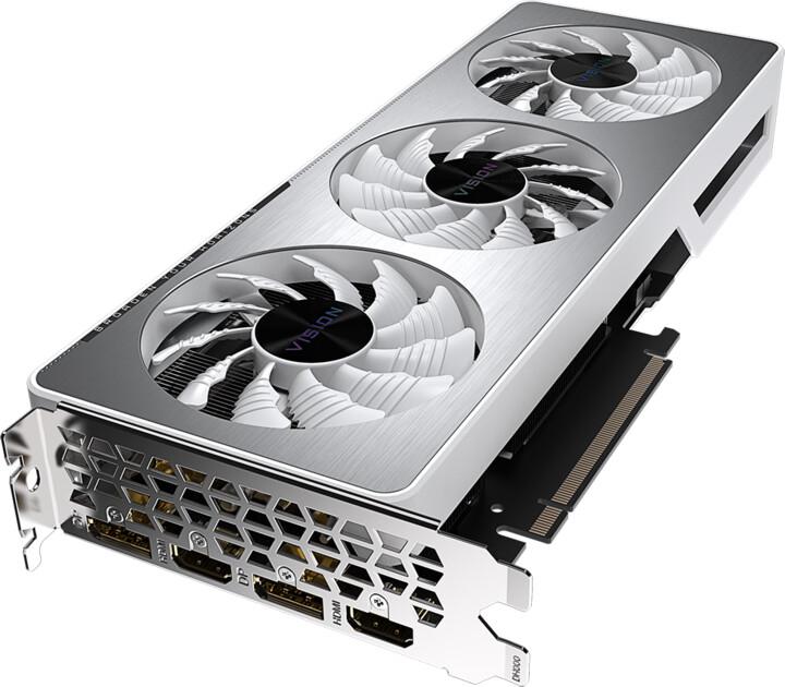 GIGABYTE GeForce RTX 3060 VISION OC 12G, LHR, 12GB GDDR6