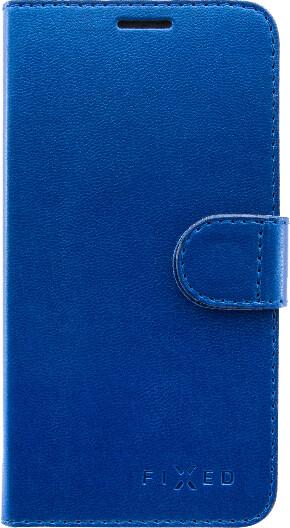 FIXED FIT pouzdro typu kniha Shine pro Huawei Y7 Prime (2018), modrá
