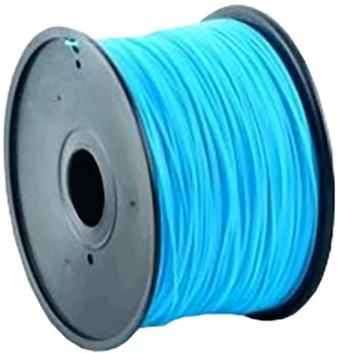 Gembird tisková struna (filament), PLA, 1,75mm, 1kg, neonová modrá