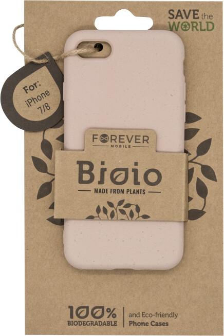 Forever Bioio zadní kryt pro iPhone 7/8/SE 2020, růžová
