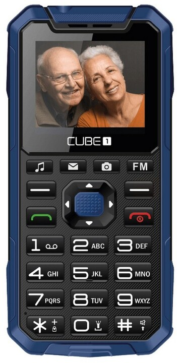 CUBE1 S400 Senior, Blue