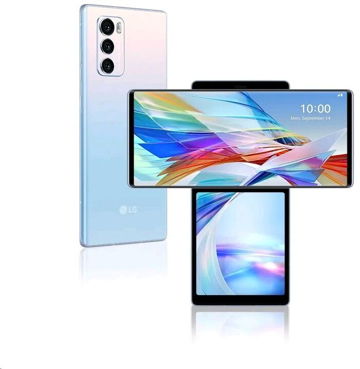LG Wing 5G, 8GB/128GB, Illusion Sky