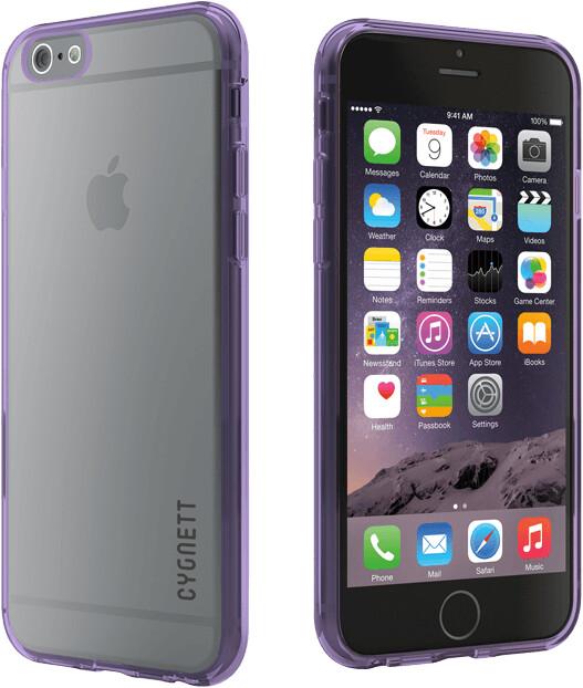 Cygnett Aeroshield pouzdro pro iPhone 6S a 6, fialová