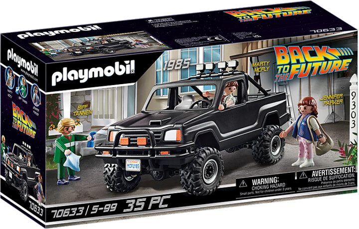 Playmobil Back to the Future 70633 Martyho pick-up