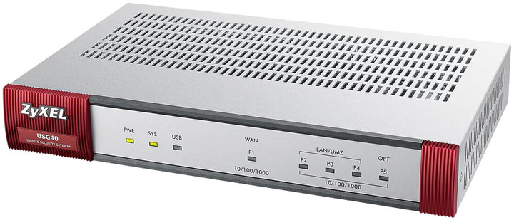 Zyxel ZyWALL USG40 UTM Security Firewall