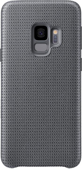 Samsung látkový odlehčený zadní kryt pro Samsung Galaxy S9, šedý