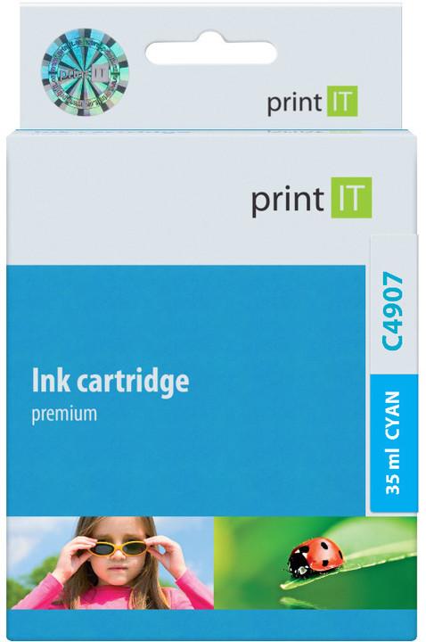 PRINT IT alternativní HP C4907AE Cyan no. 940XL