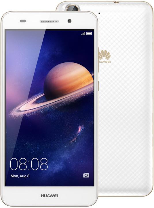 Huawei Y6 II, Dual Sim, bílá