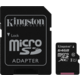 Kingston Micro SDXC 64GB Class 10 UHS-I + SD adaptér
