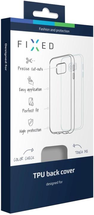FIXED gelové pouzdro pro LG K10, bezbarvá