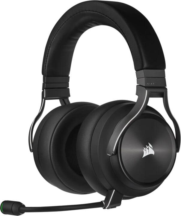 Corsair Virtuoso RGB Wireless XT, černá