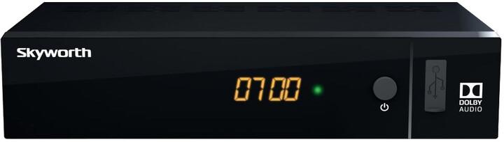 Strong Skyworth, DVB-T2, černá