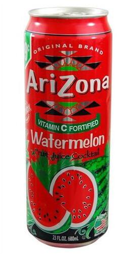 AriZona Watermelon, limonáda, meloun, 680 ml