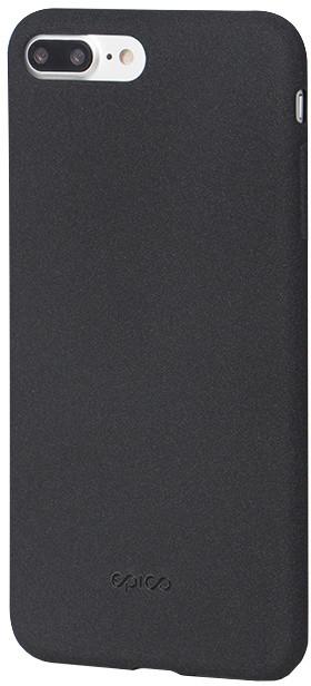 EPICO pružný plastový kryt pro iPhone 7 Plus RUBY - černý