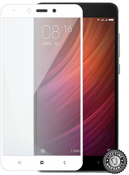 ScreenShield ochrana displeje Tempered Glass pro Xiaomi Redmi Note 4, bílá