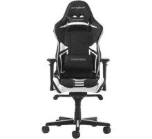 DXRacer Racing OH/RV131/NW, černá/bílá