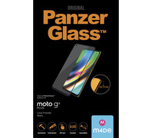 PanzerGlass ochranné sklo Edge-to-Edge pro Motorola Moto G9 Plus, černá - 6533