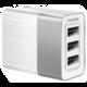 Mcdodo Cube nabíječka 3xUSB bez kabelu, 3,4A, bílá