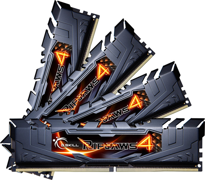 G.SKill Ripjaws4 16GB (4x4GB) DDR4 3200MHz