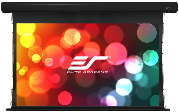 """Elite Screens plátno elektrické motorové 135"""" (343 cm)/ 16:9/168,1 x 299 cm/hliníkový case černý"""