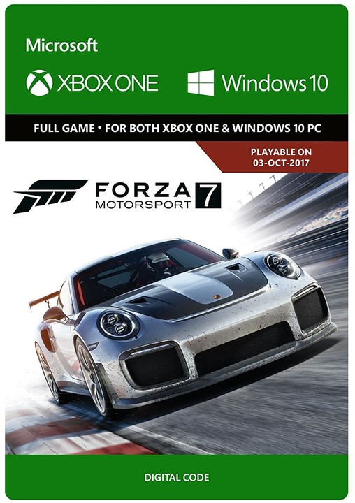 Forza Motorsport 7: Standard Edition (Xbox Play Anywhere) - elektronicky
