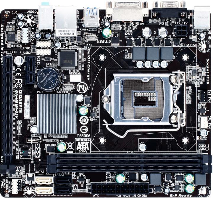 GIGABYTE GA-H81M-S2V - Intel H81