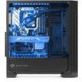 SilentiumPC Armis AR3 TG-RGB Pure Black RE II edition, okno, černá