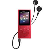 Sony NWZ-E394, 8GB, červená - NWE394R.CEW