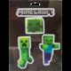 Samolepka Minecraft - Mobs Caves