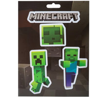 Samolepka Minecraft - Mobs Caves - 700987335422