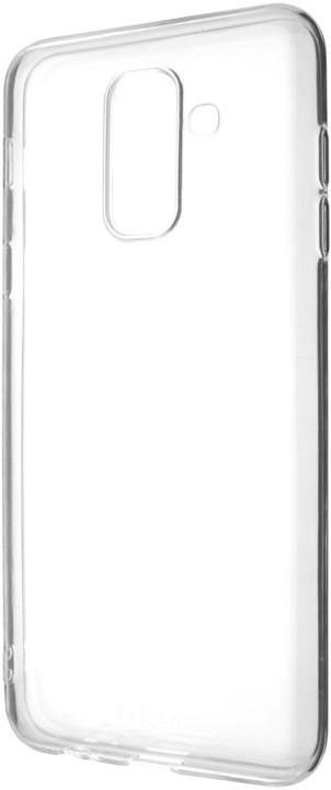 FIXED Skin ultratenké TPU gelové pouzdro pro Samsung Galaxy A6+, čiré