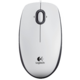 Logitech B100 Optical USB Mouse, bílá