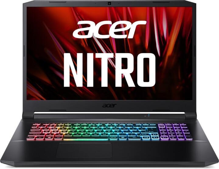 Acer Nitro 5 2021 (AN517-41), černá