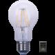 IMMAX LED žárovka Filament E27 teplá 806Im step Dim, bílá (v ceně 99 Kč)