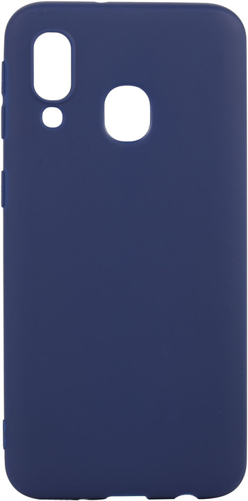 EPICO SILK MATT Case pro Samsung Galaxy A40, tmavě modrá
