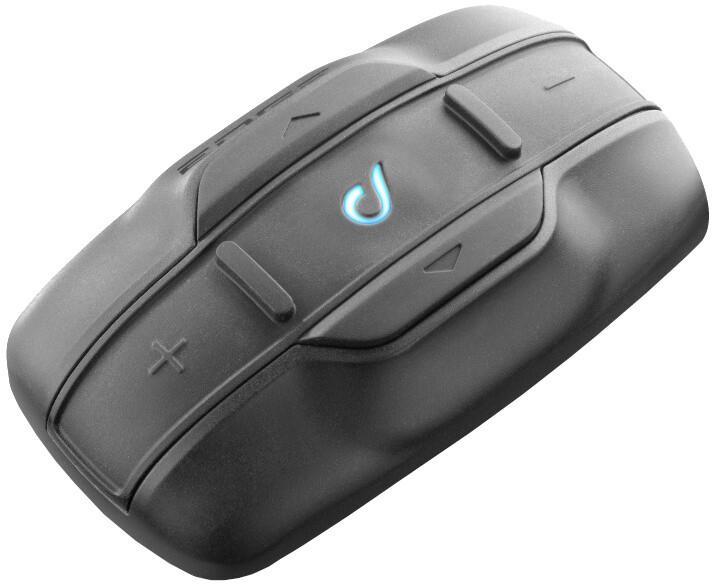 CellularLine Interphone EDGE Bluetooth handsfree pro uzavřené a otevřené přilby, Single Pack