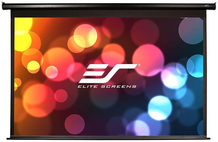 """Elite Screens plátno elektrické motorové 92"""" (233,7 cm)/ 16:9/ 114,6 x 203,7 cm/ Gain 1,1"""