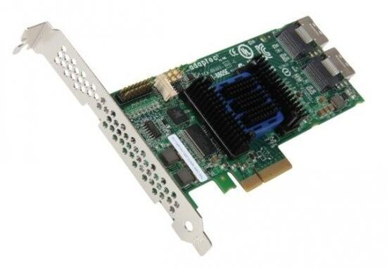 ADAPTEC RAID 6805 Entry Kit SAS 2/ SATA 2, PCI Express x4, 8 portů