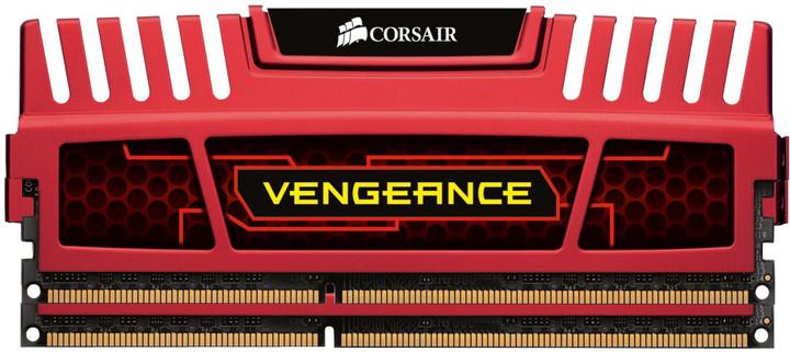Corsair Vengeance Red 8GB (2x4GB) DDR3 1600