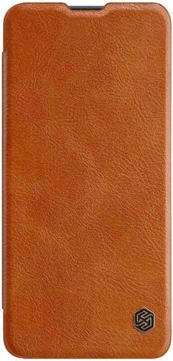 Nillkin pouzdro Qin Book pro Samsung Galaxy A31, hnědá