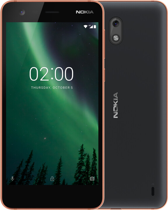 Nokia 2, Single Sim, měděná