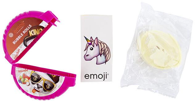 Emoji Bubble Rolls, žvýkačka, 16g