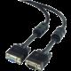 Gembird CABLEXPERT kabel prodlužovací mon 15M/15F VGA 3m stíněný extra, ferrity, černá