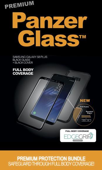 PanzerGlass Premium pro Samsung Galaxy S8 Plus černé + černé pouzdro