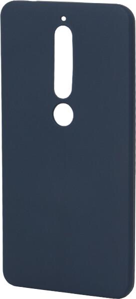 EPICO Pružný plastový kryt pro Nokia 6.1 SILK MATT - modrý