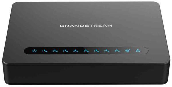 Grandstream HT818 - Analogový adaptér, 8x FX port, 2x 100/1000