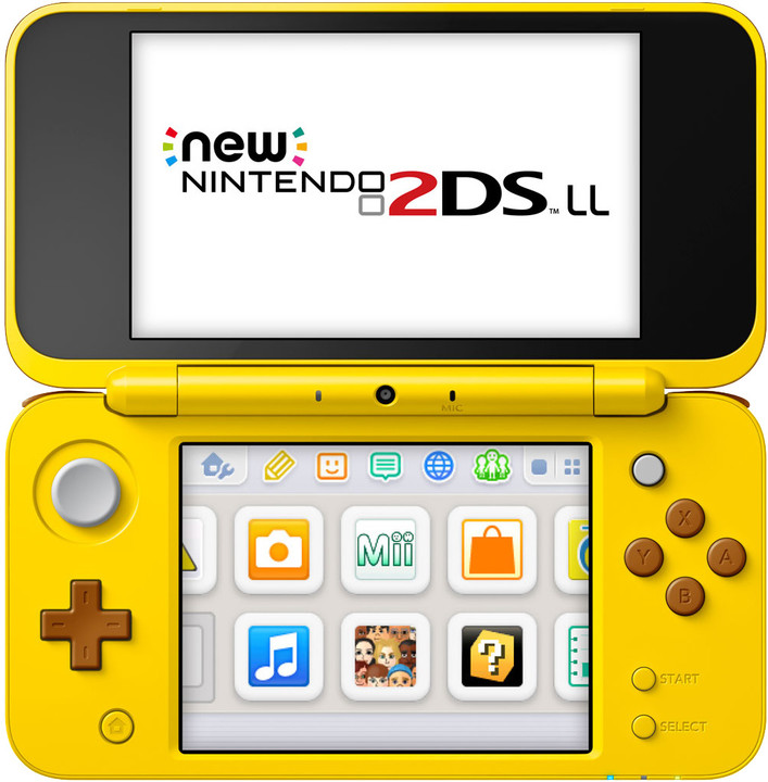 Nintendo New 2DS XL, Pikachu Edition