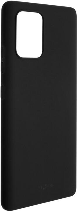 FIXED Story zadní pogumovaný kryt pro Samsung Galaxy S10 Lite, černá