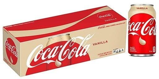 Coca Cola Vanilla, limonáda, 355 ml, 12ks
