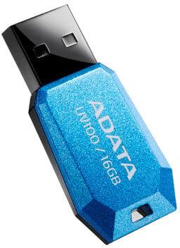 ADATA UV100 16GB, modrá